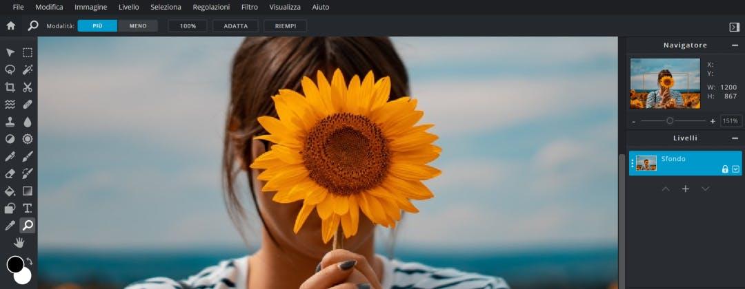Pixlr E, l'editor grafico online con abbonamento mensile. L'abbiamo provato