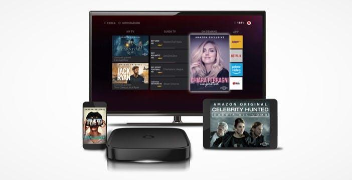 Prime Video sbarca su Vodafone TV. Ai nuovi clienti 6 mesi gratis di abbonamento ad Amazon Prime