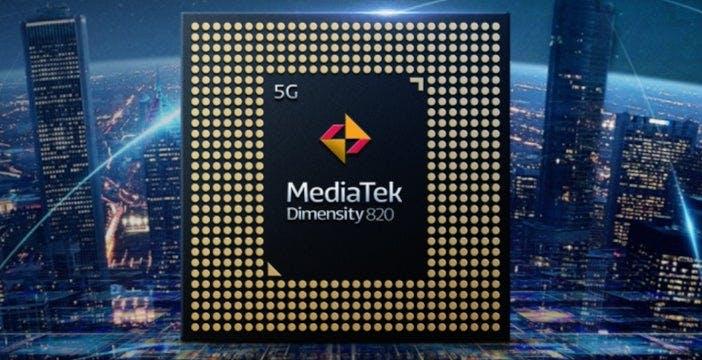 Ufficiale il processore MediaTek Dimensity 820, il 5G per la fascia media