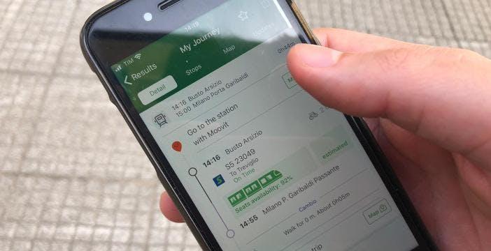 Treni contingentati, aggiornata l'app di Trenord: ora si può sapere quanti posti liberi restano