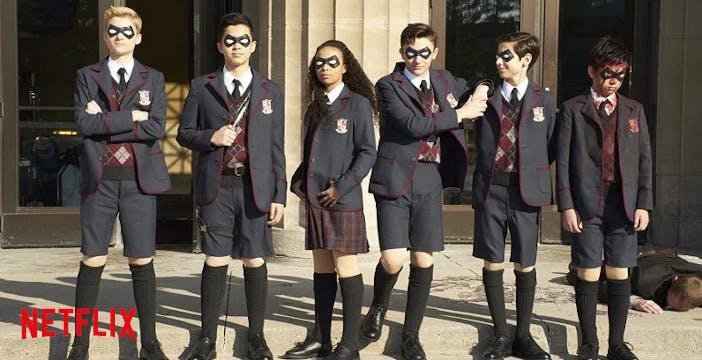 I nuovi episodi di Umbrella Academy arrivano su Netflix a luglio