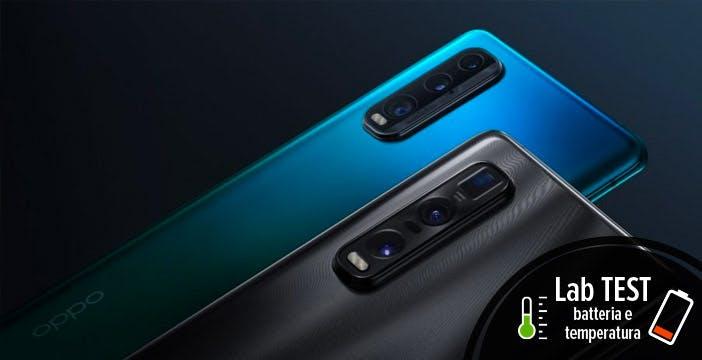 Oppo Find X2 Pro, test batteria. Lo schermo a 120 Hz penalizza la durata