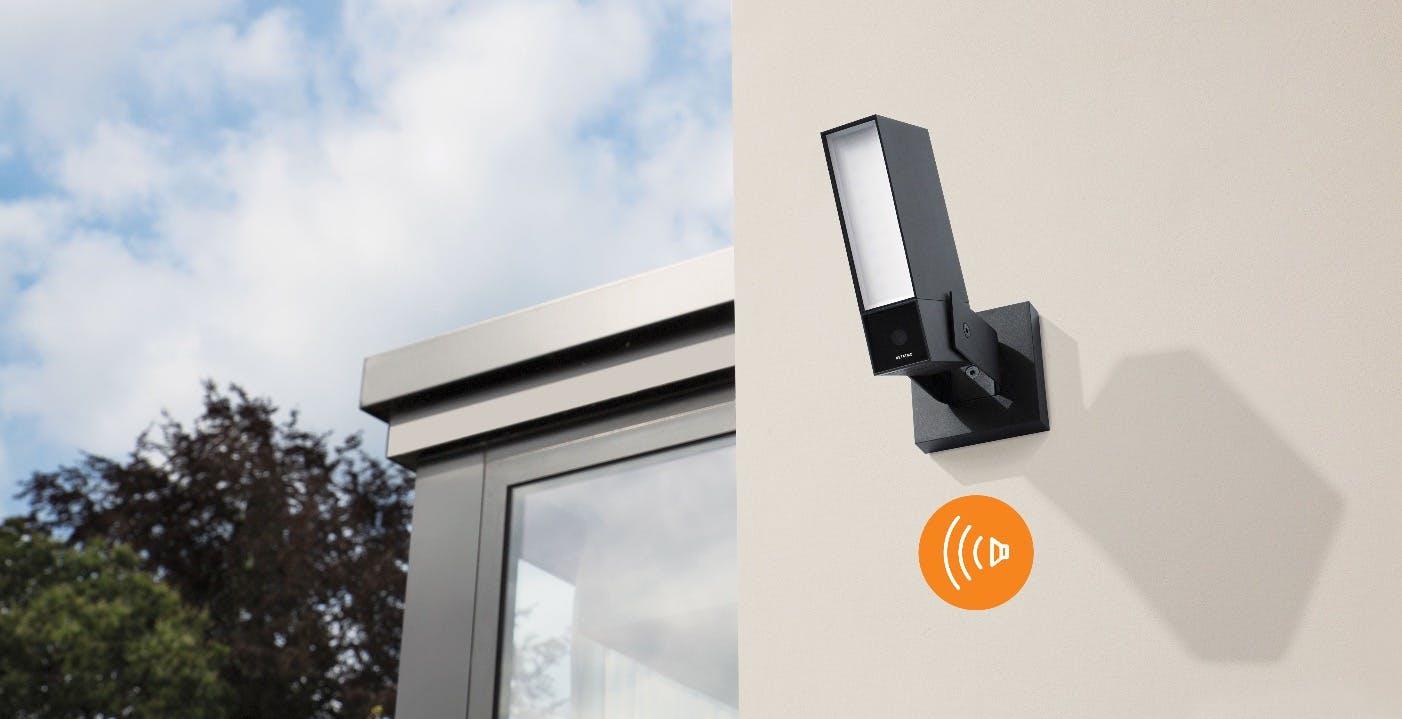 Netatmo, in arrivo una nuova videocamera di sorveglianza intelligente con sirena integrata