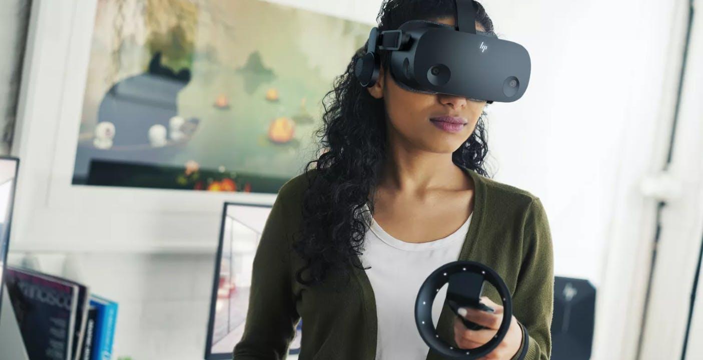 Svelato HP Reverb 2: 599 euro per il visore VR di seconda generazione con risoluzione 2K
