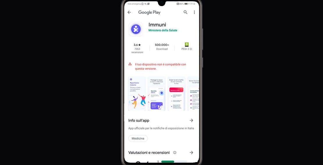 Immuni non funziona su Huawei e Honor, anche se hanno Google. Il risparmio energetico principale indiziato