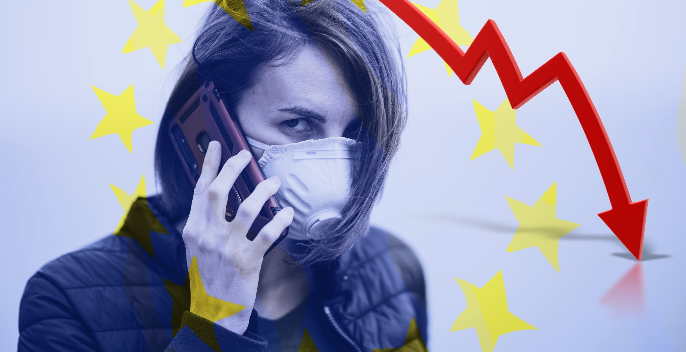 Il mercato europeo degli smartphone soffre durante la pandemia. L'Italia in caduta libera: -21%