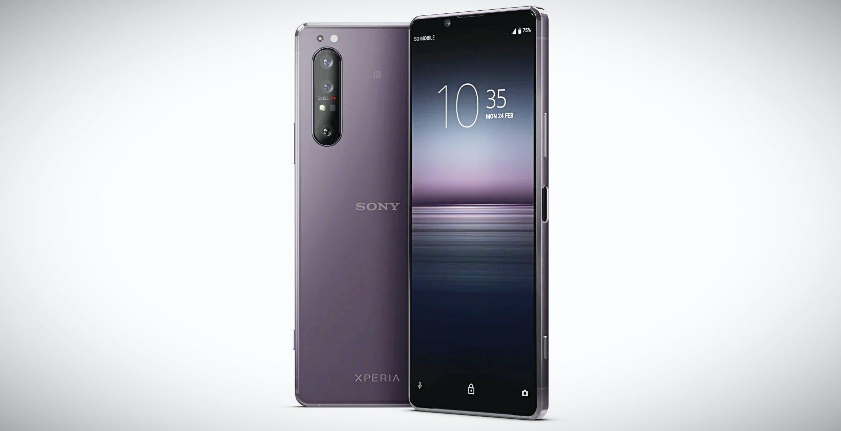 Sony Xperia 1 II in preordine. Costa 1.199 euro con in regalo le cuffie WH-1000XM3