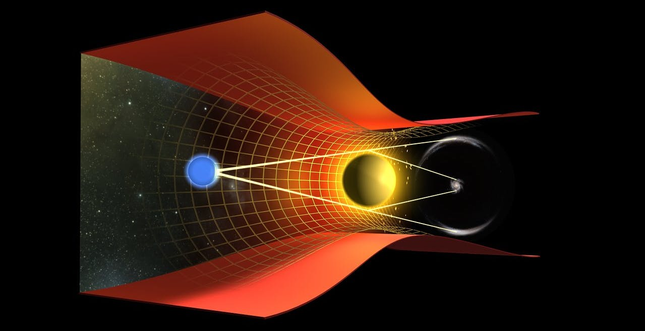 Scoperta la distanza del primo anello di Einstein osservato nel 1987: 10 miliardi di anni luce