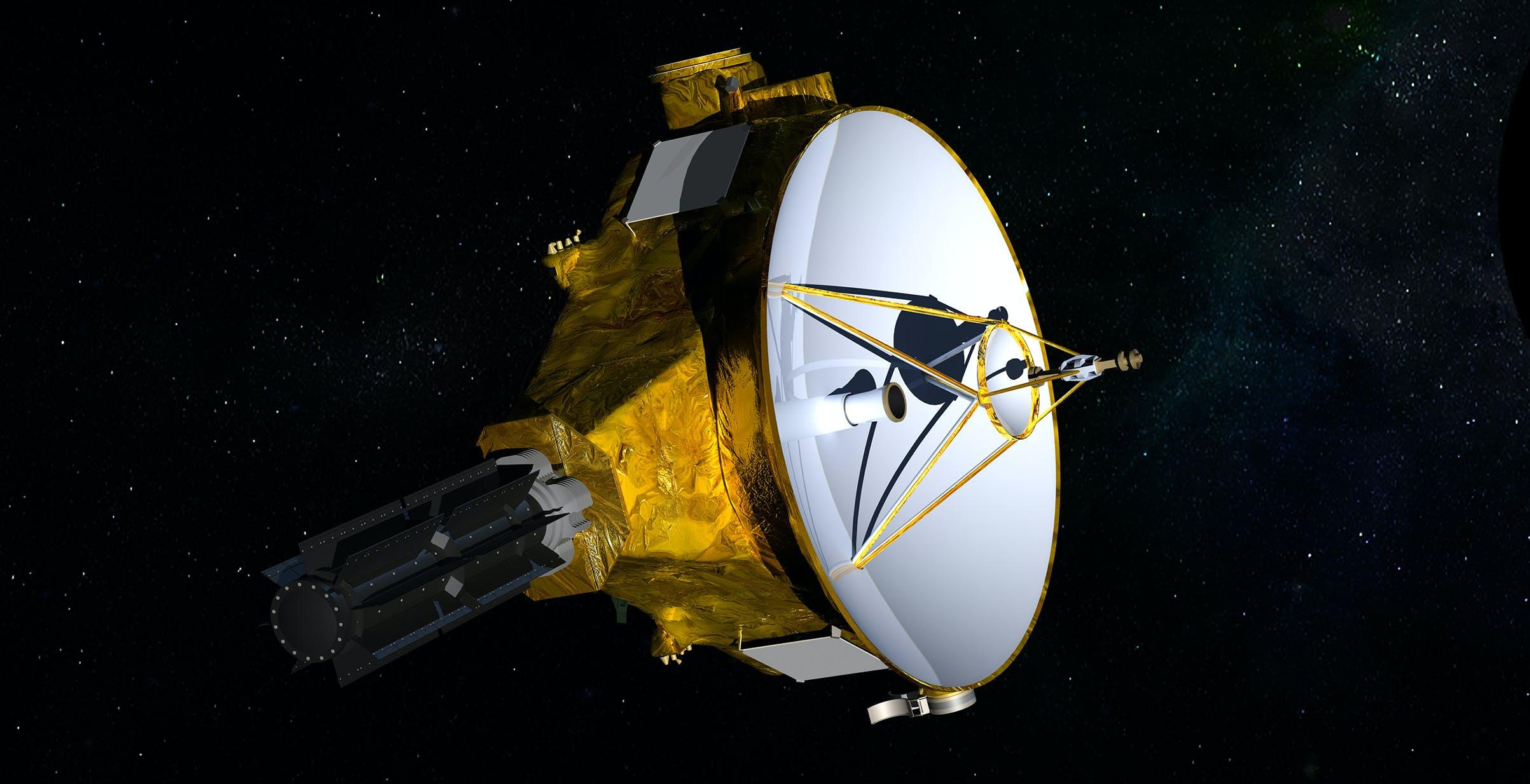 New Horizons è ora talmente lontana dalla Terra da vedere un cielo diverso dal nostro