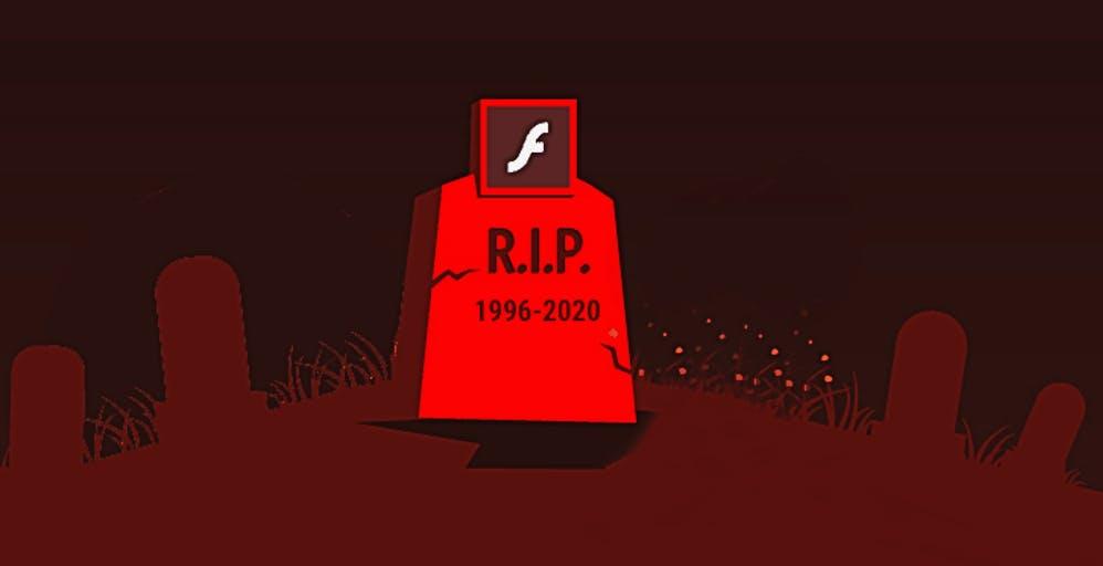 Il Flash Player morirà il 31 dicembre, ma il TG1 lo usa ancora