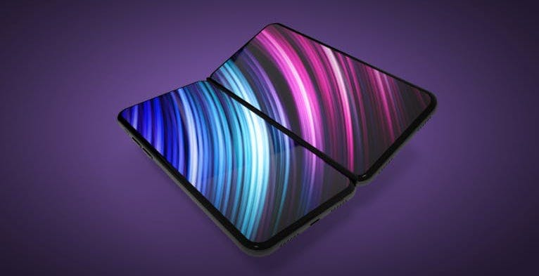 L'iPhone pieghevole utilizzerà due schermi separati come il Surface Duo?