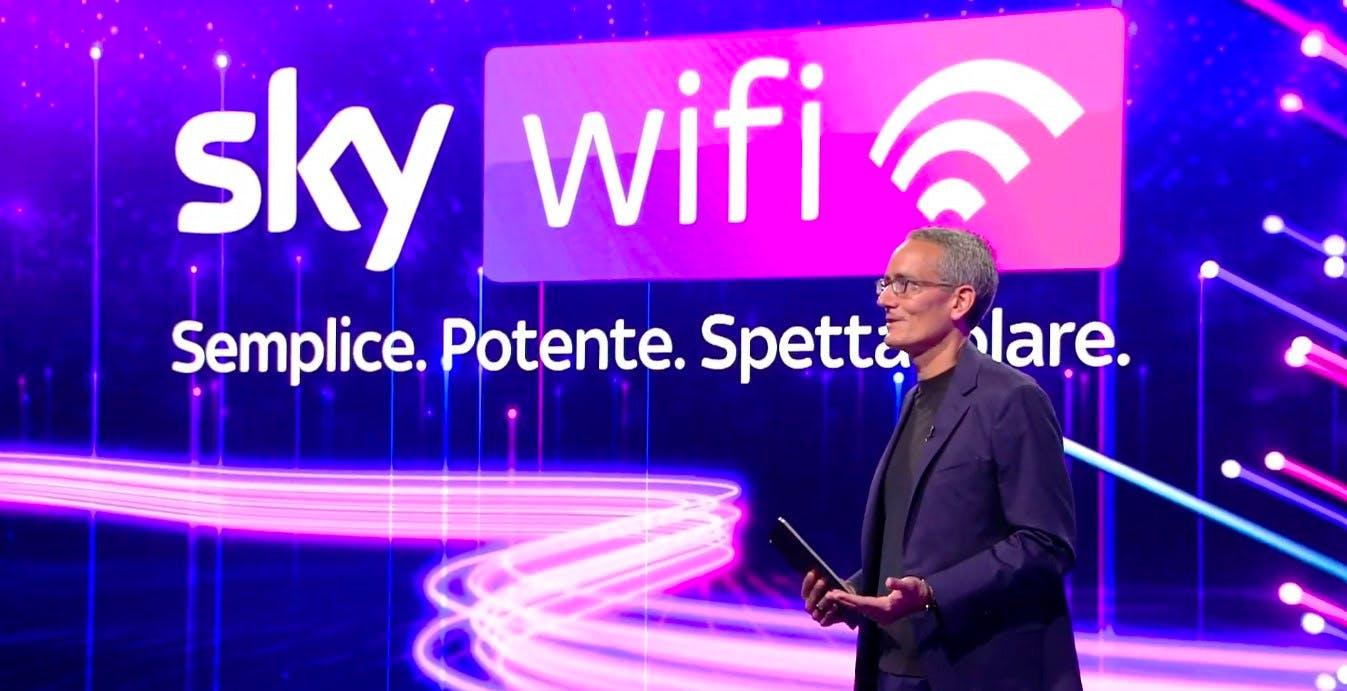 Sky WiFi è ufficiale: fibra ottica da 29,90 euro. Ecco tutti i dettagli