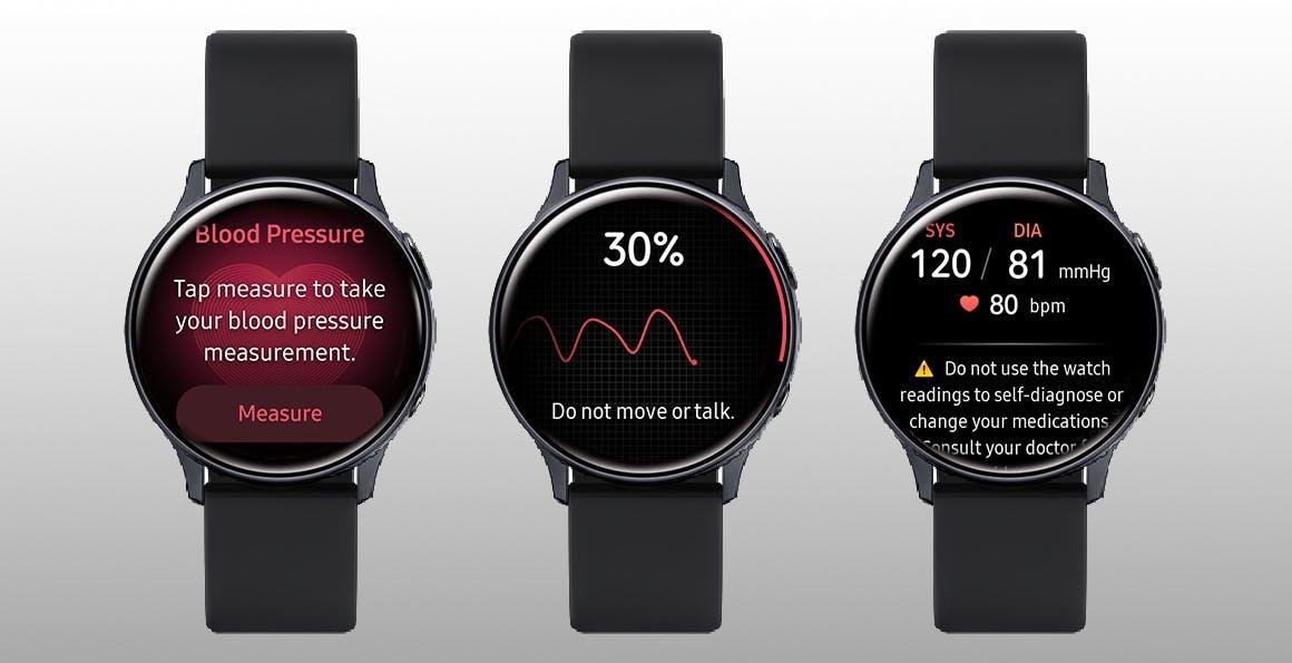 Il Samsung Galaxy Watch Active2 ora misura la pressione sanguigna