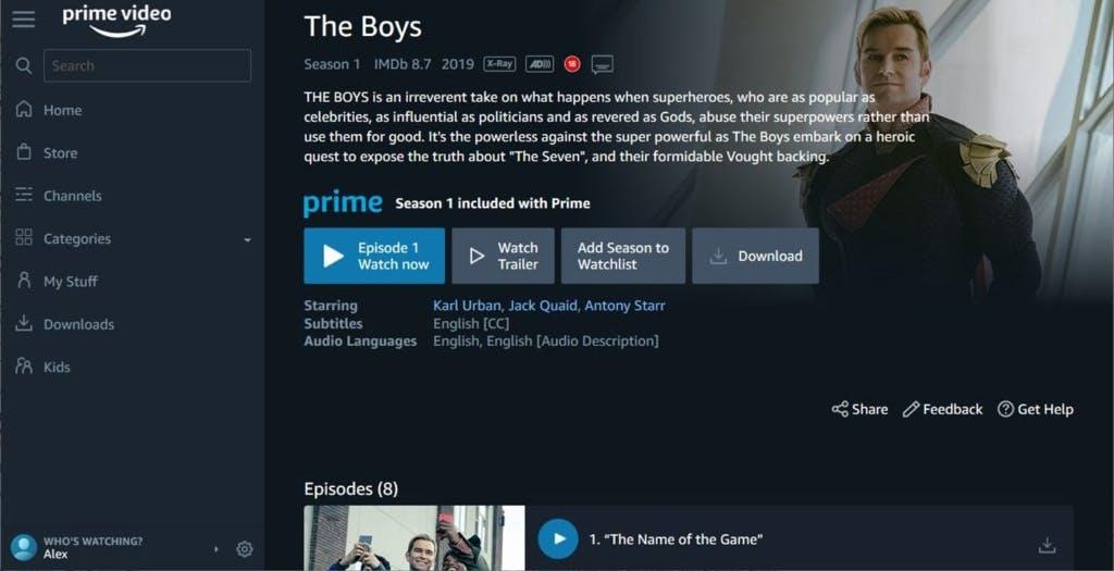Amazon Prime Video arriva su Microsoft Store. Prossima tappa gli eventi live