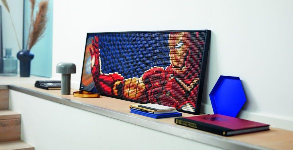 LEGO Art, arrivano i mosaici a mattoncini. Iron Man e Darth Vader i primi da appendere al muro