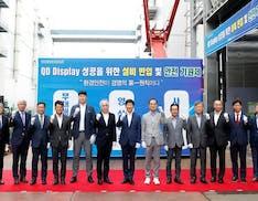 QD-OLED: Samsung Display inizia ufficialmente la conversione delle sue linee di produzione