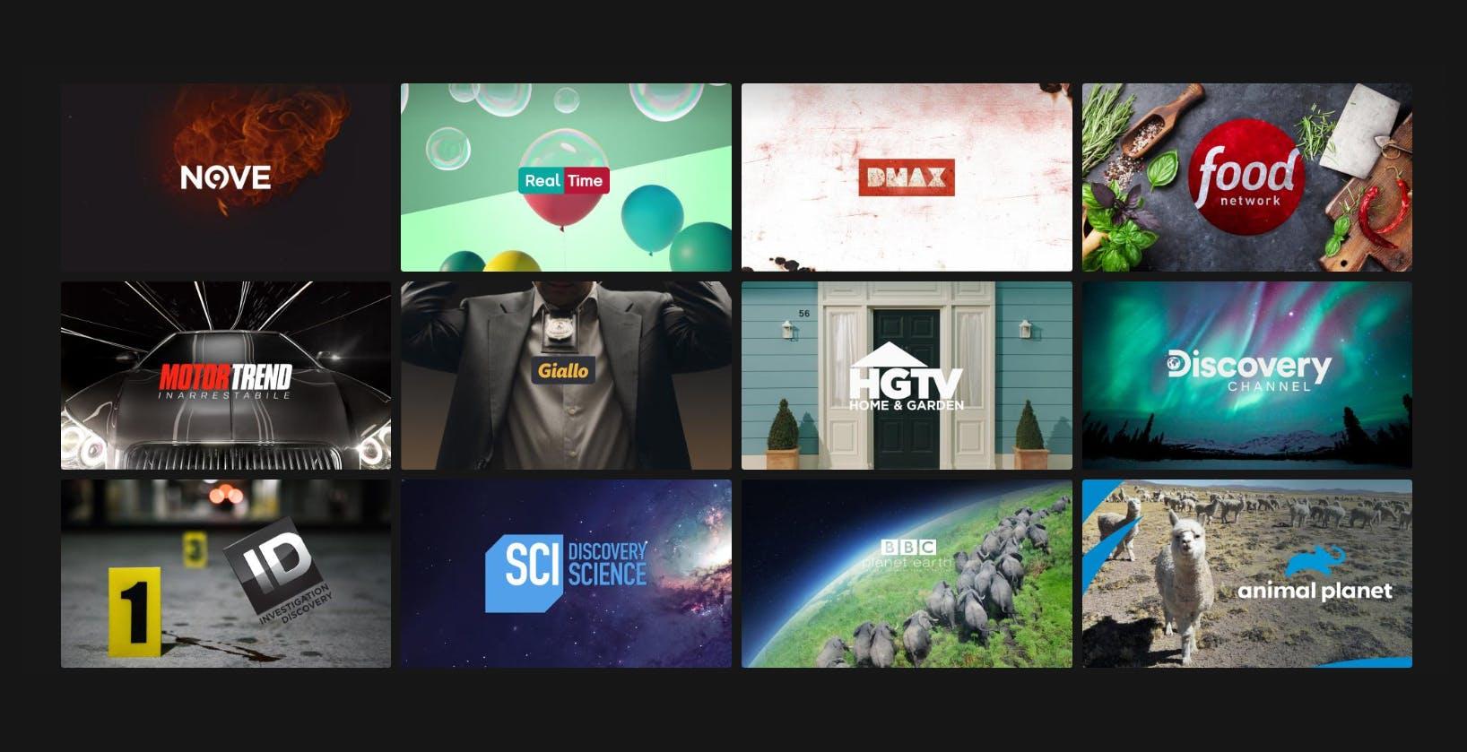 I nuovi palinsesti Discovery: 20 format originali e offerta più completa