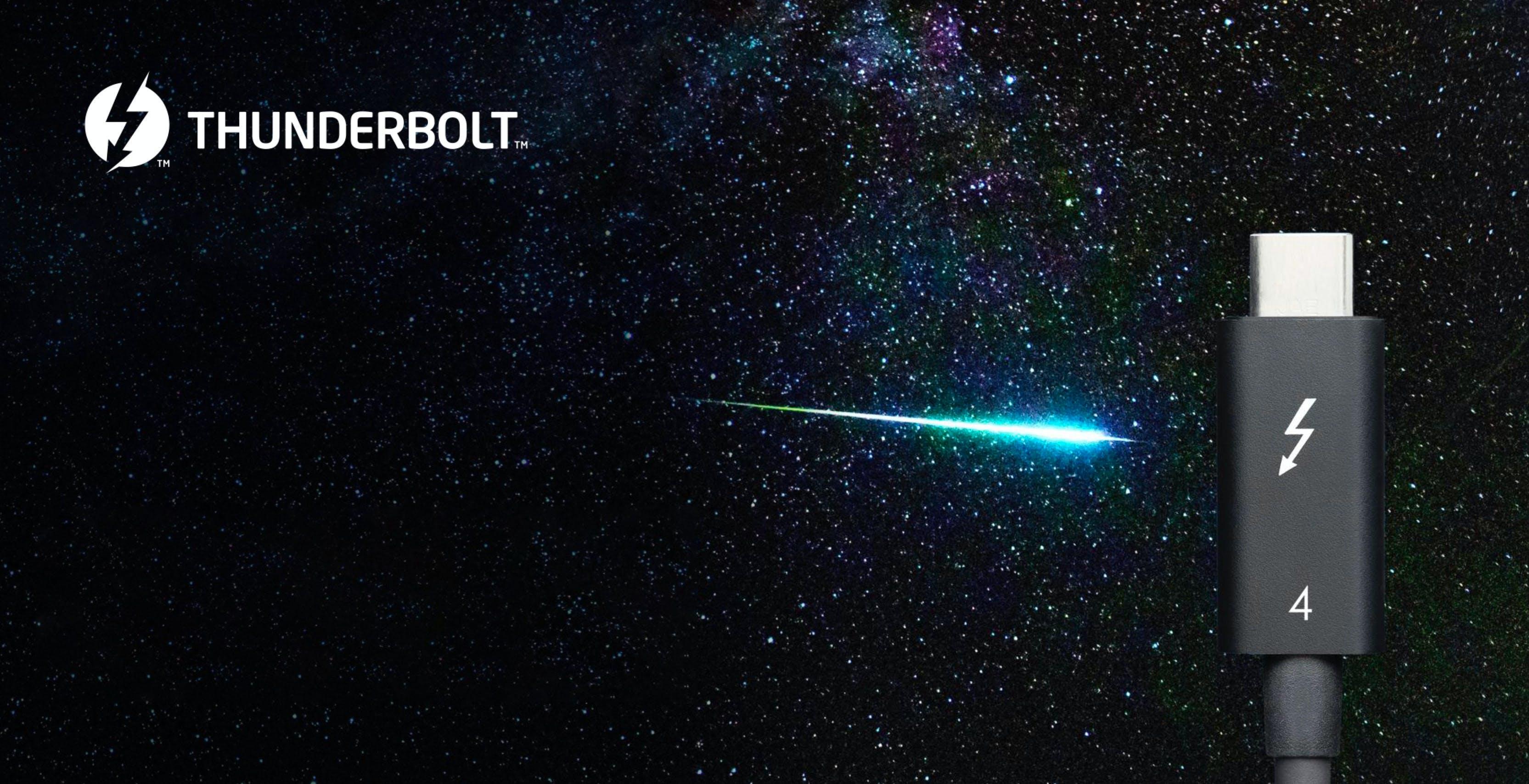 Thunderbolt 4, tutti i dettagli. Non sarà più esclusiva Intel: anche AMD e Apple potranno usarlo