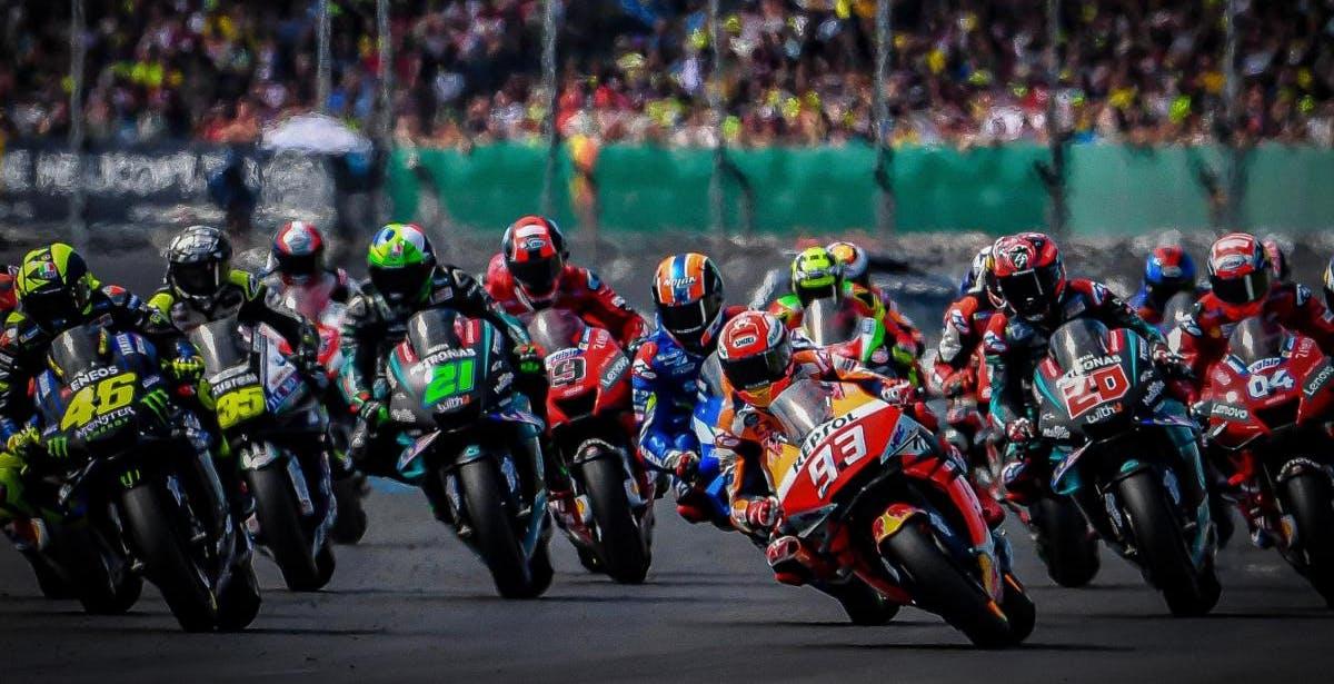 Riparte la Moto GP, le gare in chiaro su TV8 anche in HD