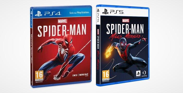 La copertina dei giochi PS5 è quasi identica a quella precedente