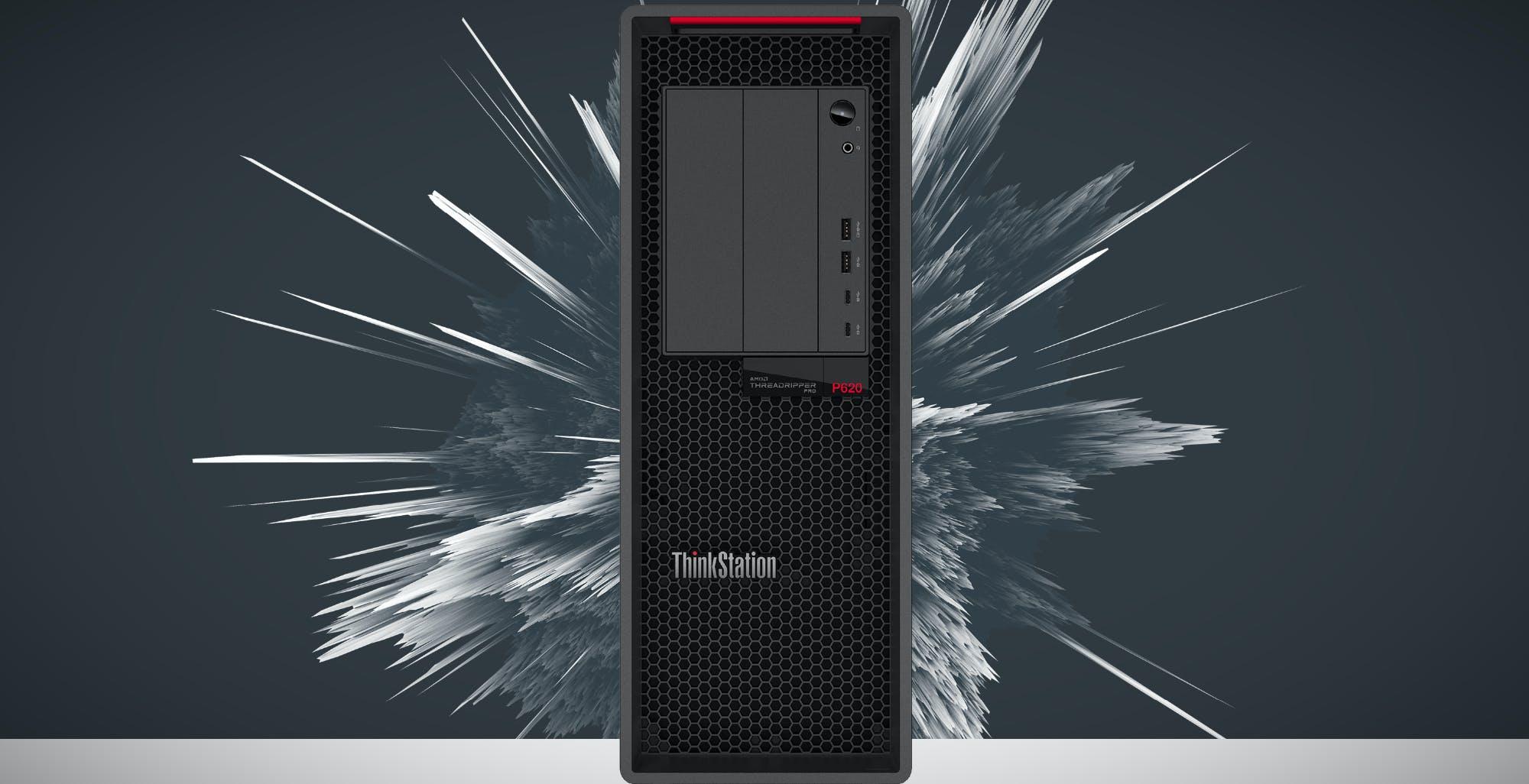 Lenovo annuncia ThinkStation P620, la prima workstation al mondo a 64 core grazie al Threadripper PRO di AMD