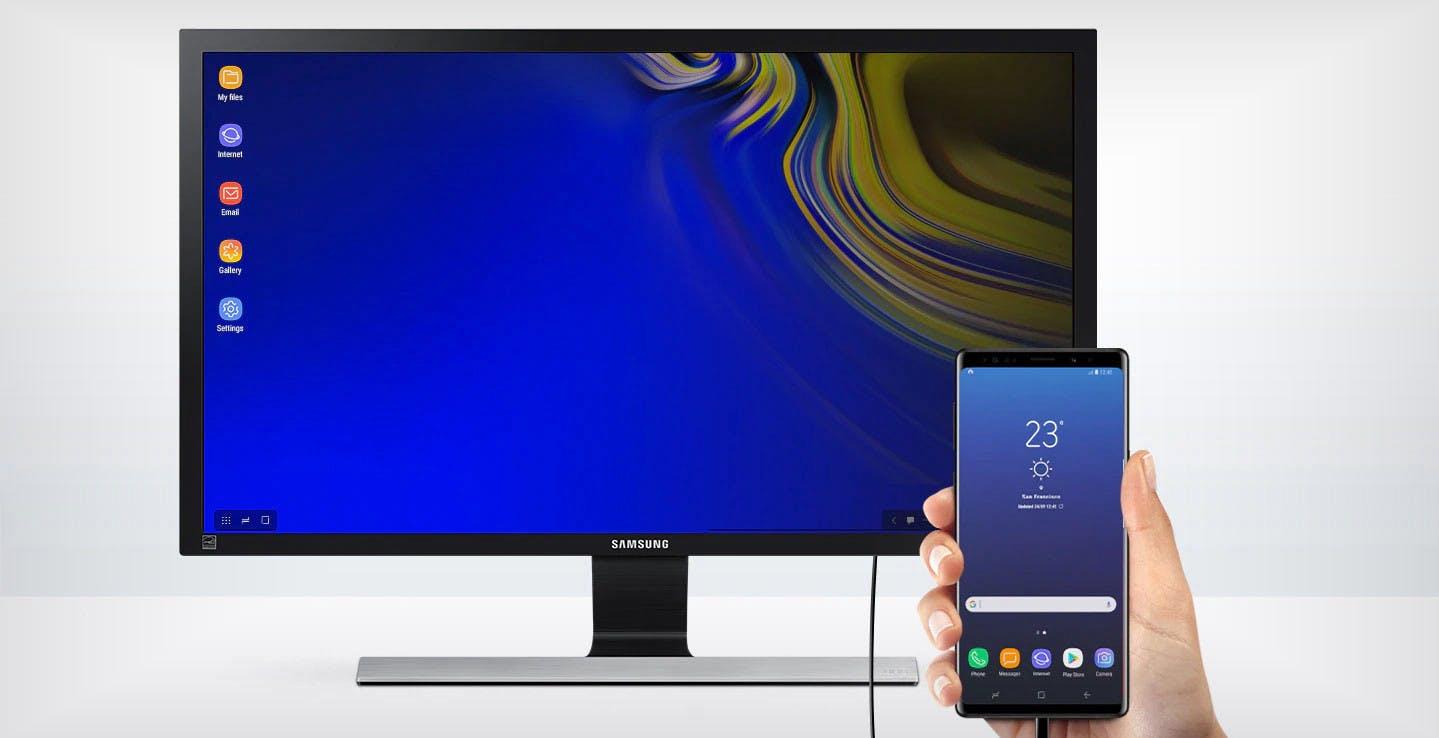 Con il Galaxy Note 20, Samsung DeX diventa wireless: basta cavi per sfruttare la modalità