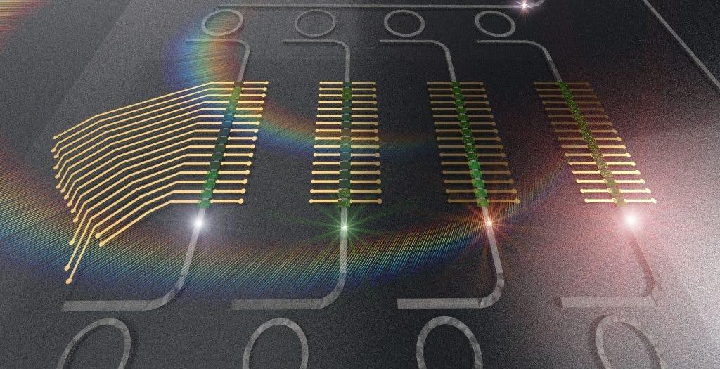 Luce al posto dell'elettricità per accelerare i calcoli sull'IA. L'approccio rivoluzionario di un nuovo studio