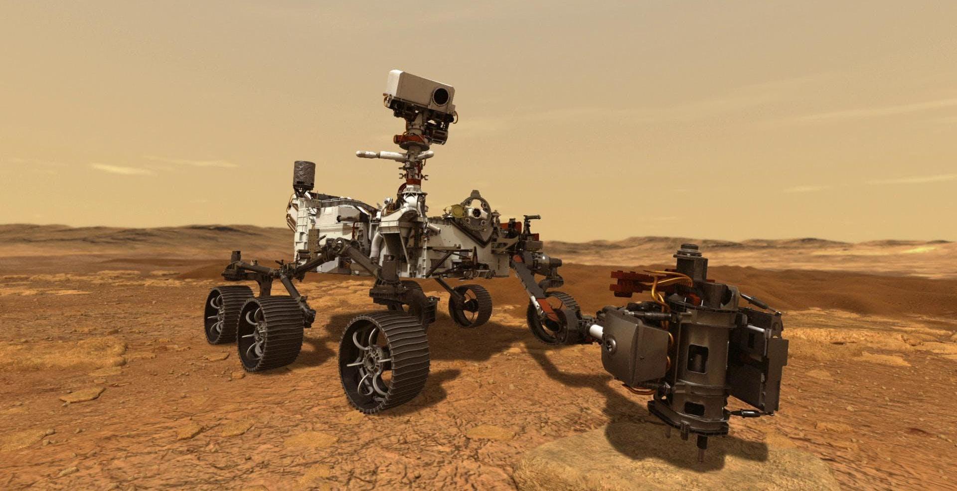 Domani la NASA invierà un rover su Marte insieme a un pezzo di meteorite. Perché?