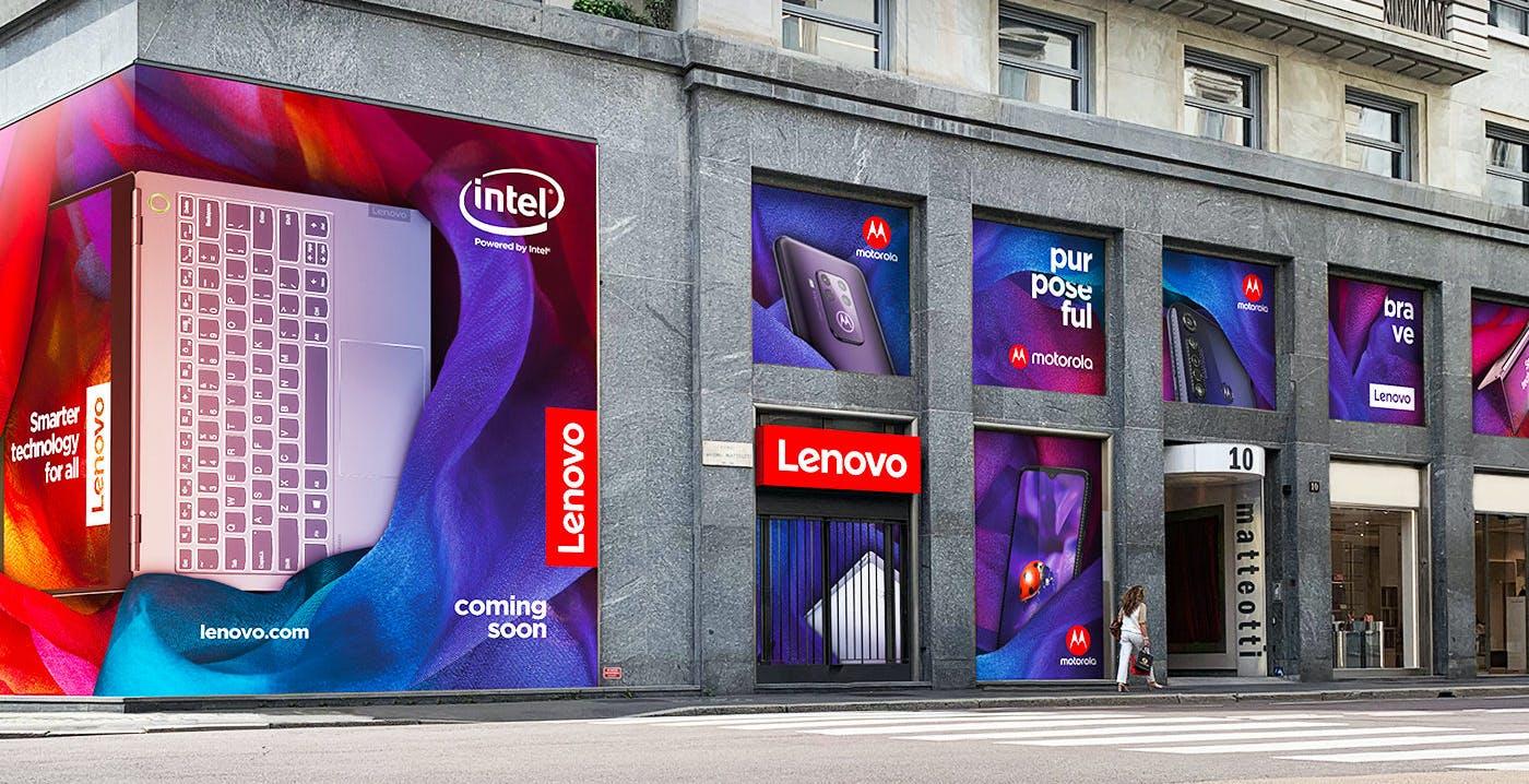 Aprirà a Milano Spazio Lenovo, un concept store per tecnologia e workshop