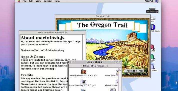 Mac OS 8 diventa un'app per Mac e PC