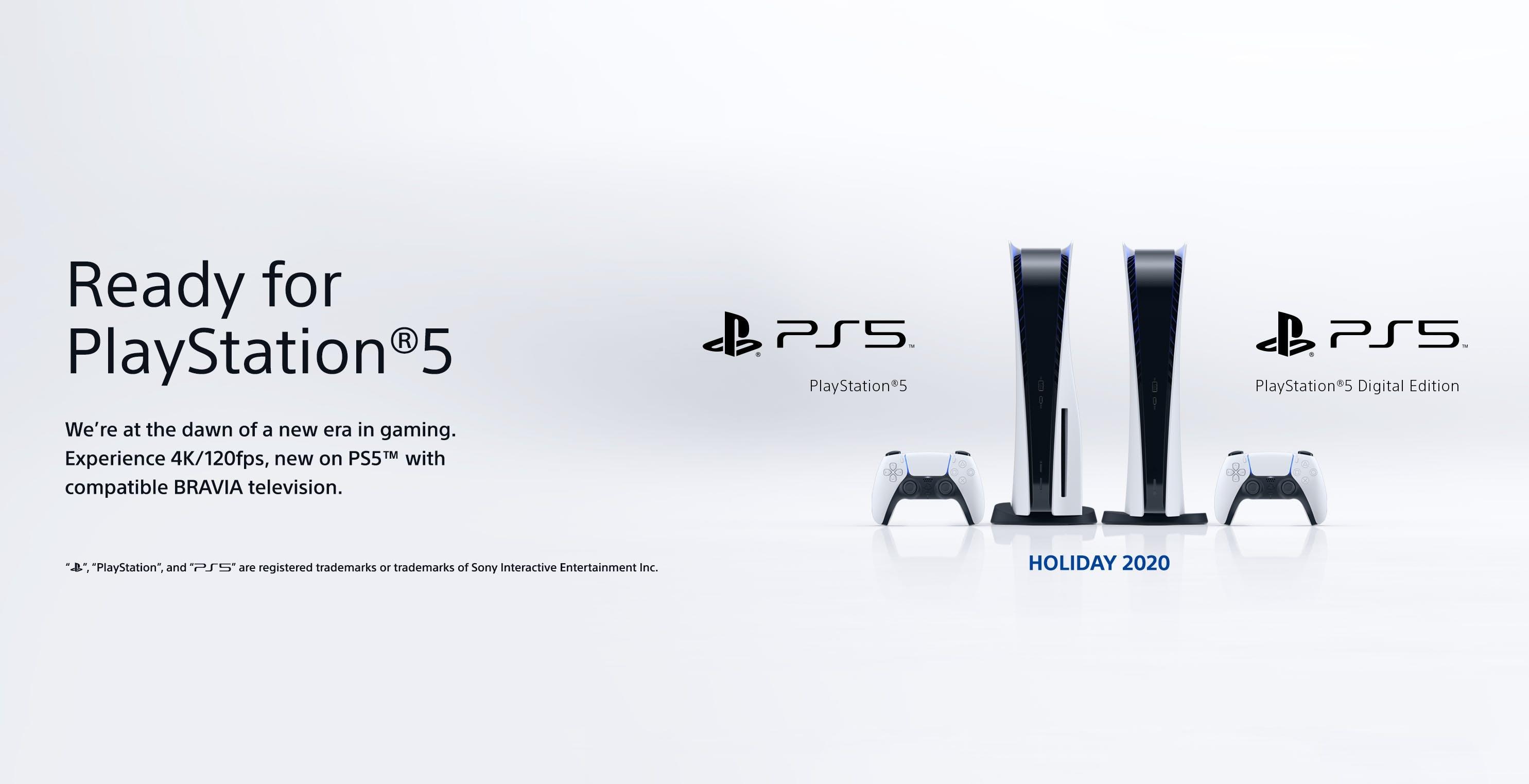 Sony introduce il logo Ready for PS5 per i TV Bravia con HDMI 2.1