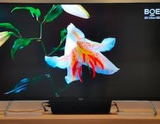 BOE presenta un TV OLED da 55 pollici con risoluzione 8K realizzato con stampa a getto