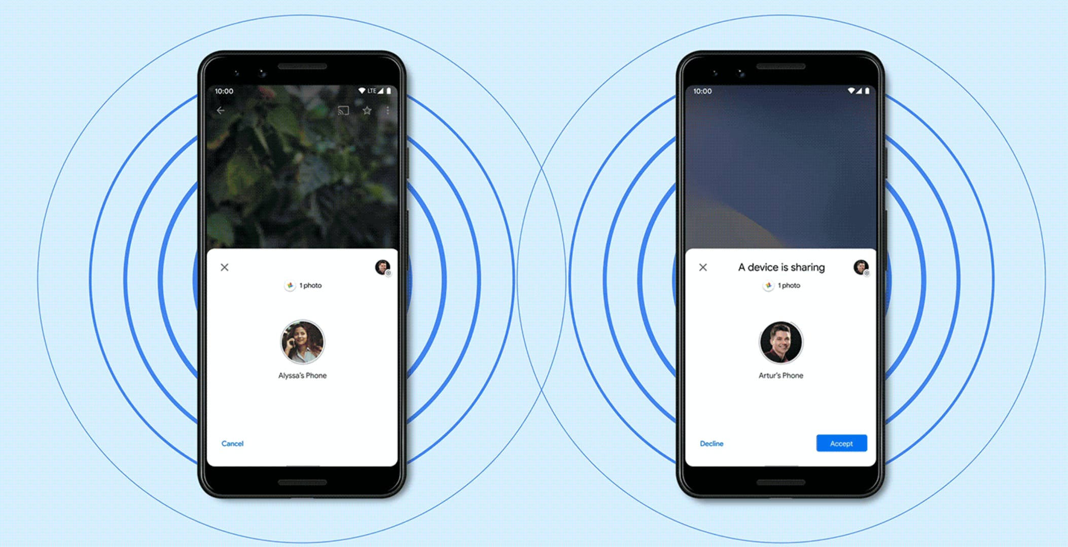 Android Nearby Share è qui: in arrivo su smartphone Pixel e Samsung