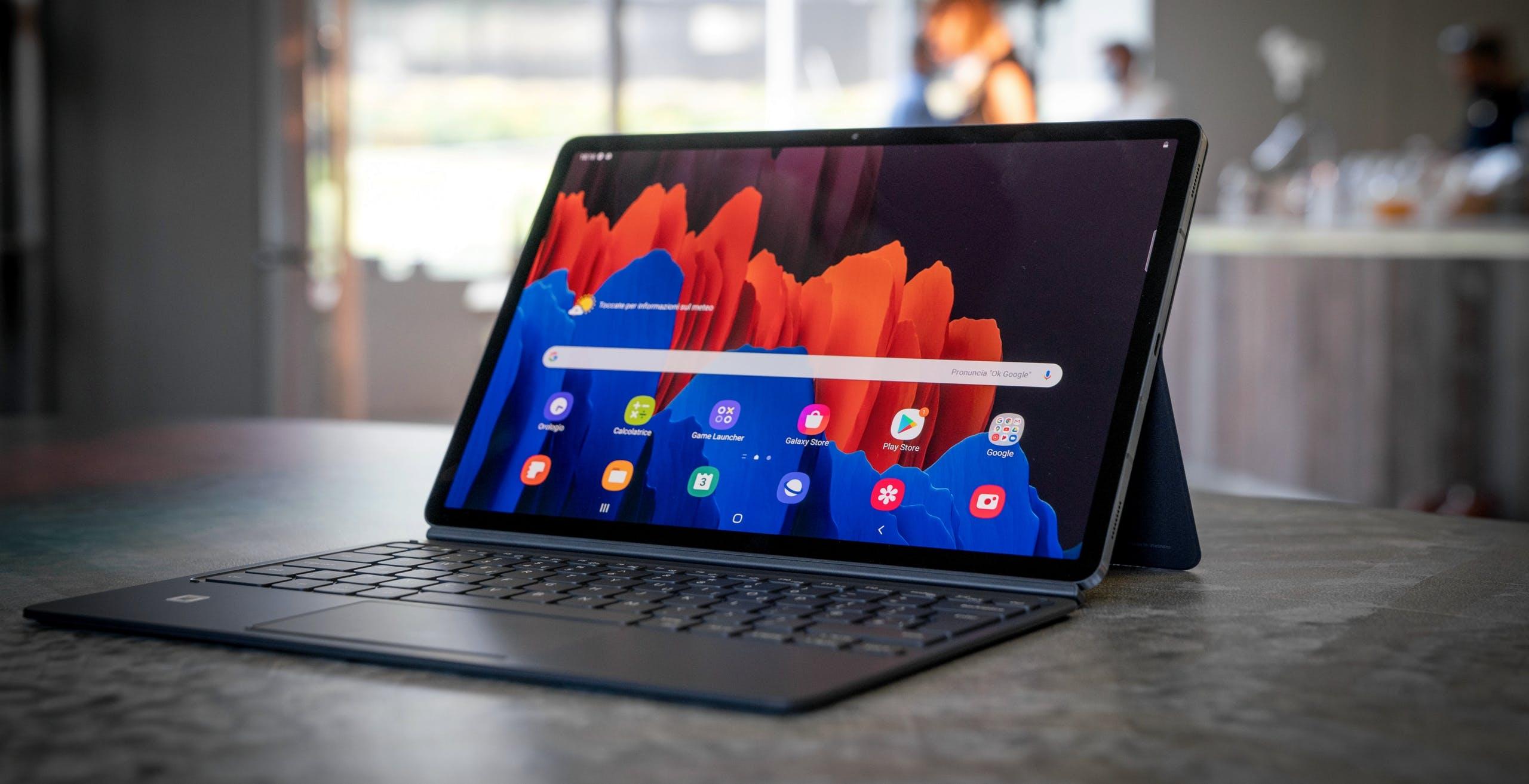 Nuovi Galaxy Tab S7 e S7+, 120 Hz di refresh rate e integrazione con Windows 10 senza precedenti
