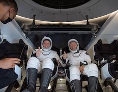 """L'equipaggio di Crew Dragon sul rientro a Terra: """"È stato come sentirsi dentro un animale"""""""