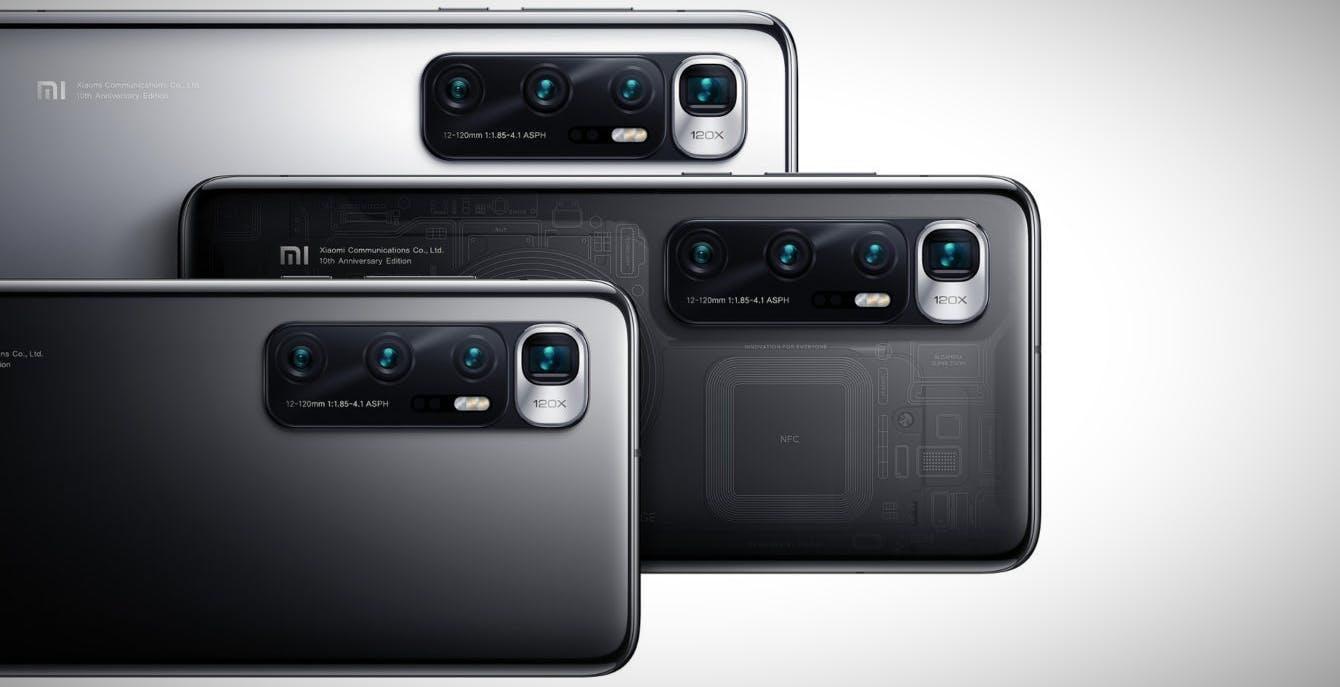 Xiaomi lancia il Mi 10 Ultra con ricarica da 120W, 120 Hz di refresh rate e zoom digitale da 120x