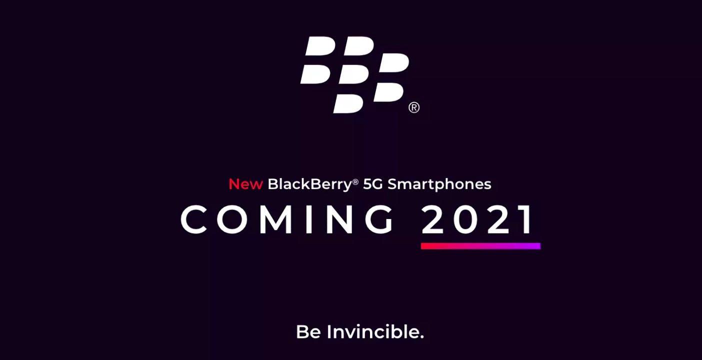 Blackberry rinascerà: nel 2021 un nuovo smartphone 5G