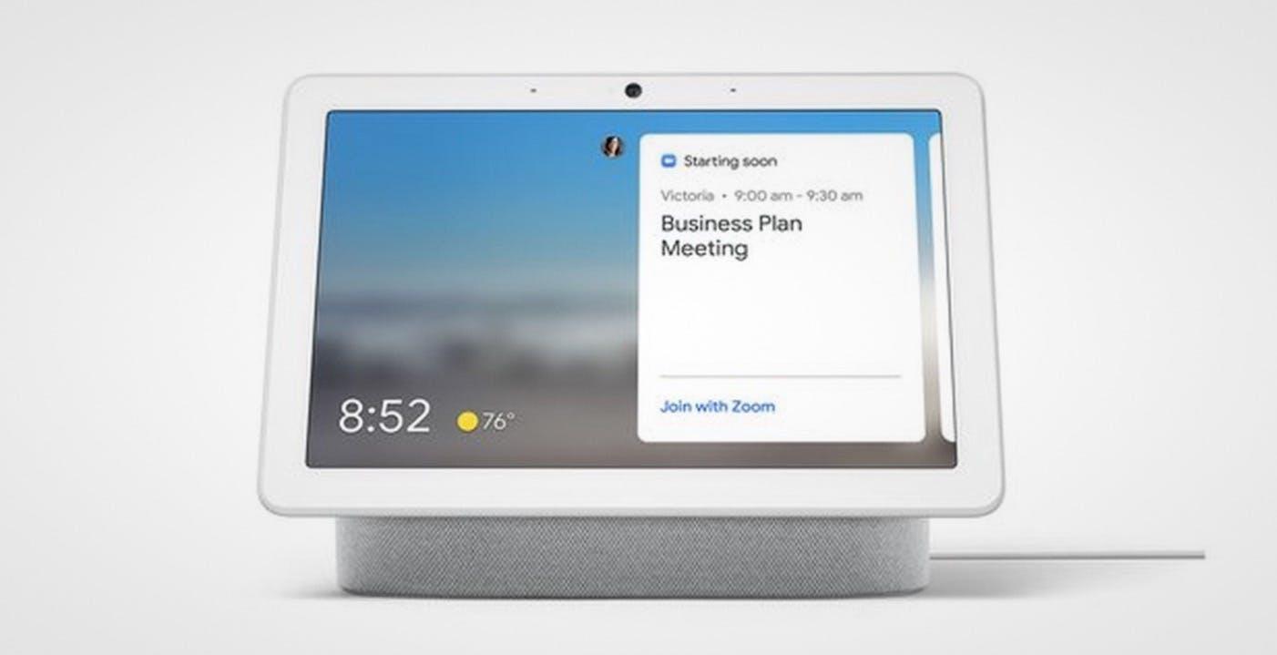 Zoom arriverà anche su alcuni Amazon Echo, Facebook Portal e Google Nest Hub