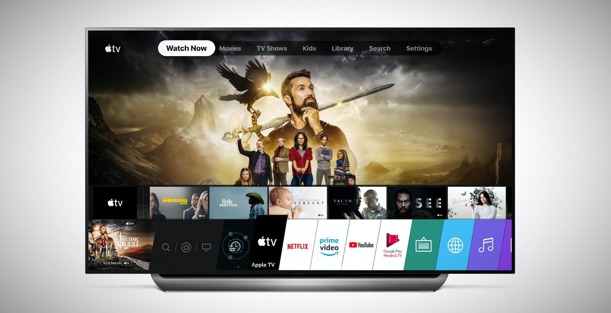 Apple TV sta arrivando sulle smart TV LG del 2018? Alcuni utenti dicono di sì