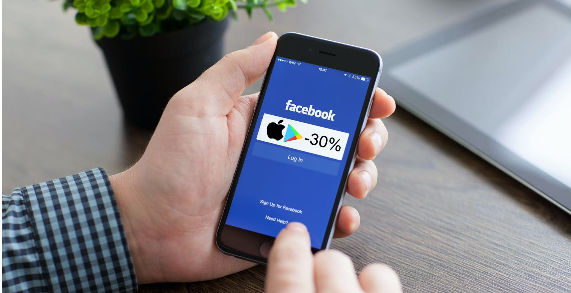 Apple e Google impediscono a Facebook di dire chiaramente agli utenti chi incassa il 30% sugli acquisti in-app
