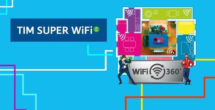 Nasce TIM Super WiFi: il segnale WiFi è certificato, ma solo se acquisti il modem