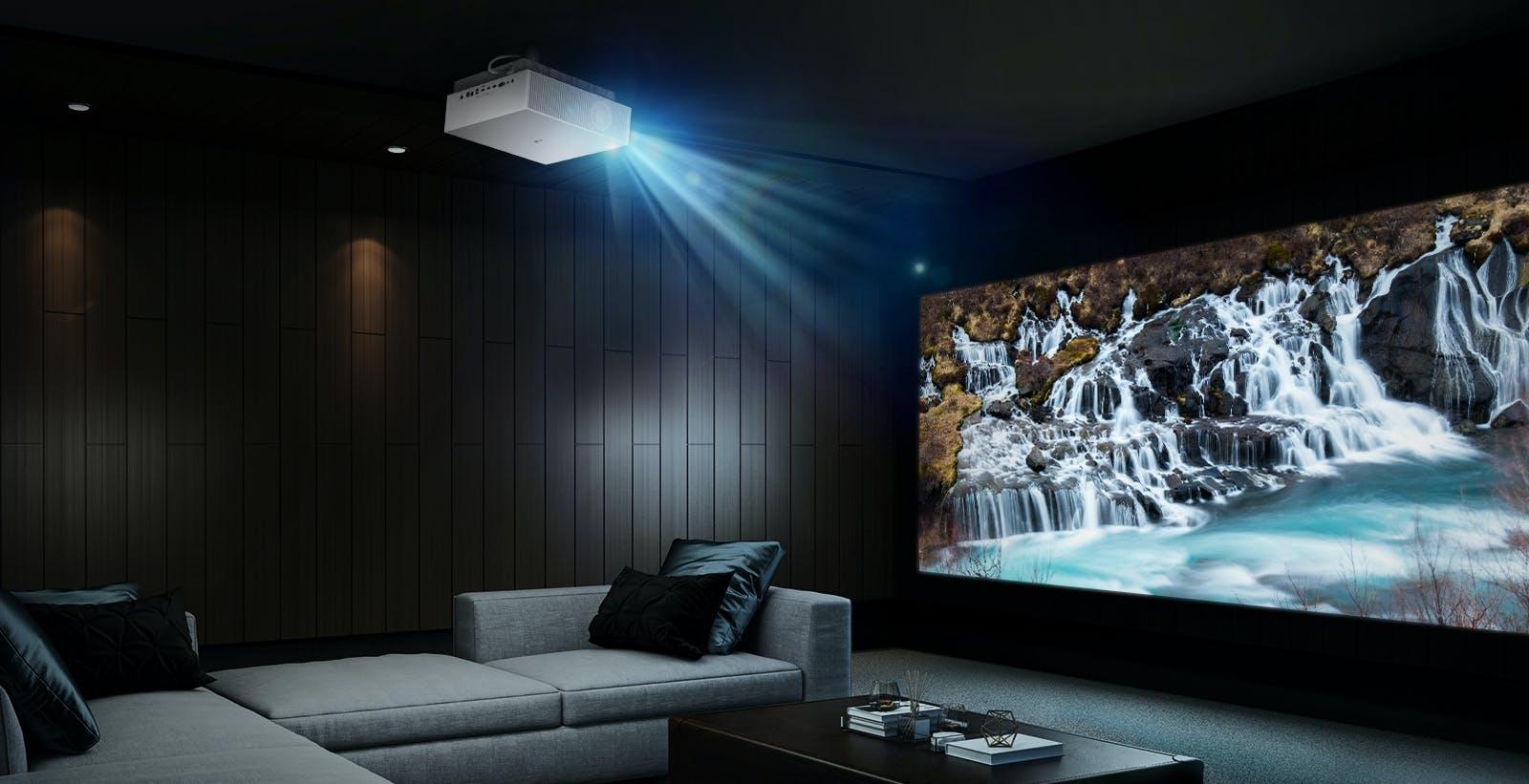 LG annuncia CineBeam 4K, videoproiettore LASER con WebOS e AirPlay 2