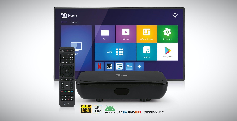 Lo Smart Box TS UP T2HD di TeleSystem è anche un decoder per il digitale terrestre pronto per lo switch-off