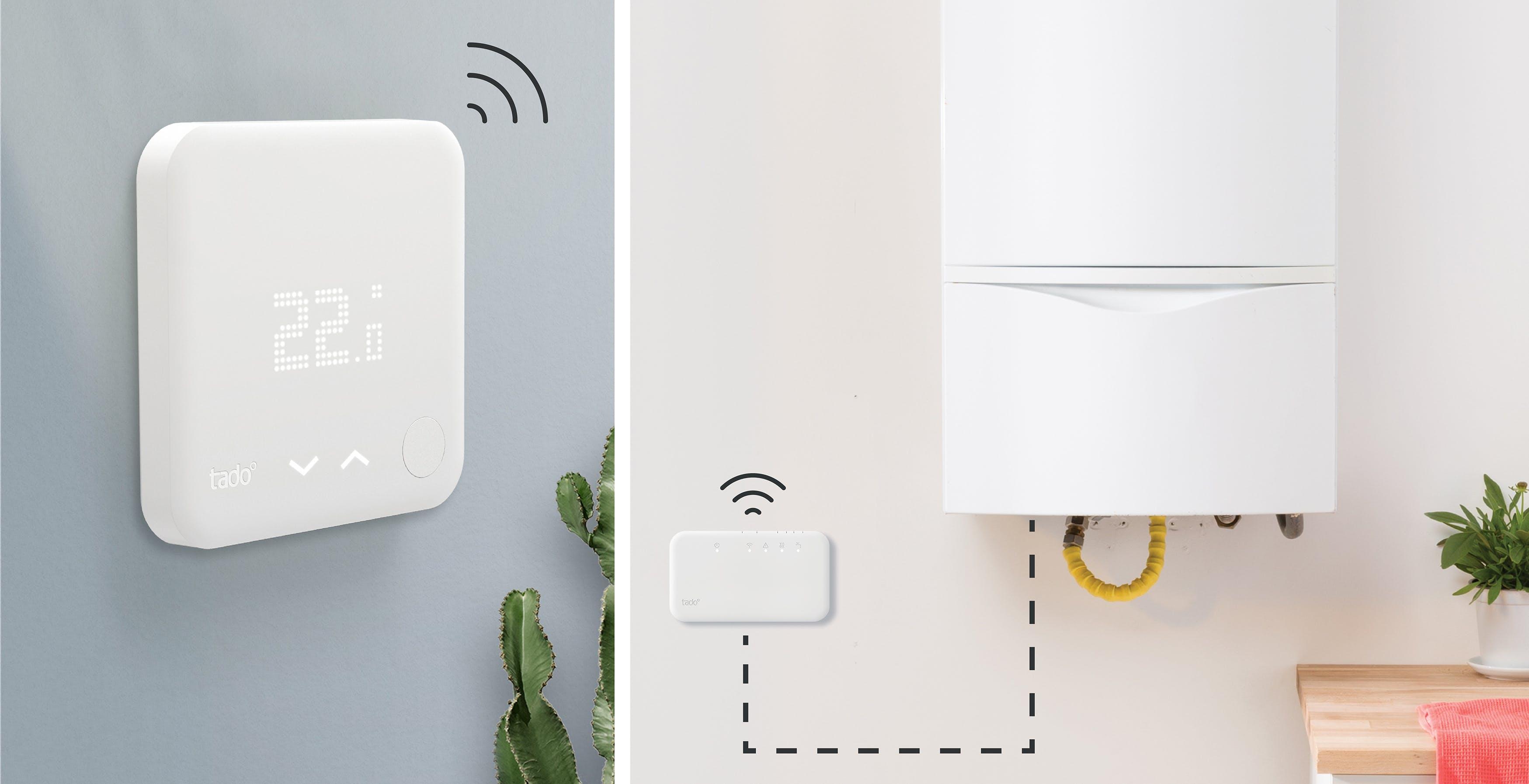 La manutenzione del termostato è fai da te: basta l'app. Le novità di Tado