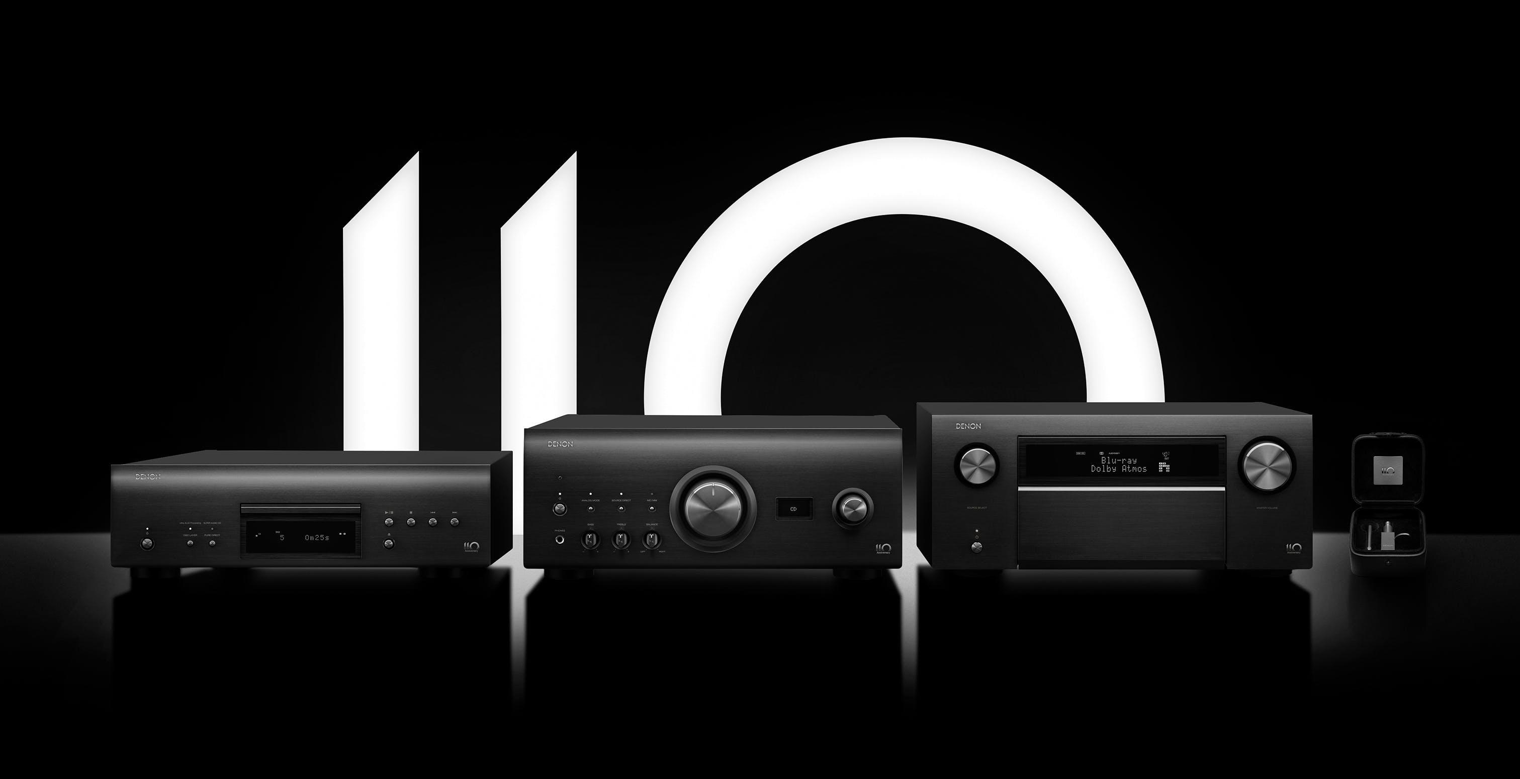 """Denon festeggia i suoi 110 anni. Ecco la """"Serie 110"""" celebrativa progettata senza compromessi"""