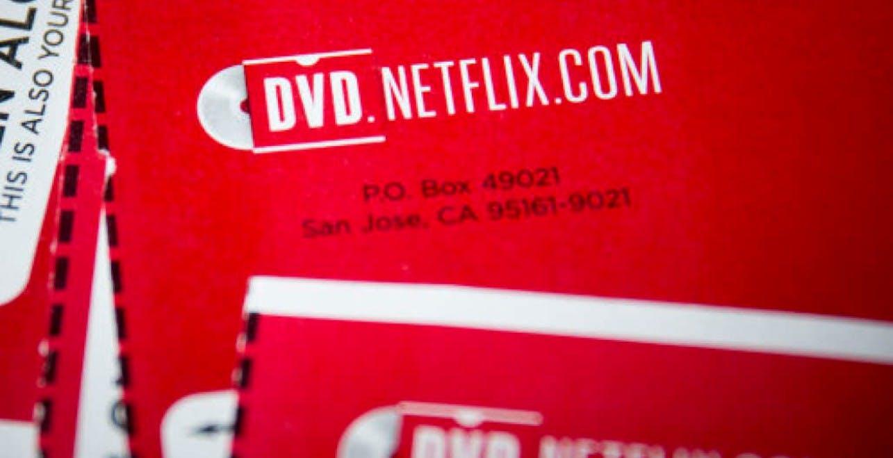 Negli Stati Uniti c'è ancora chi noleggia DVD e Blu-ray da Netflix