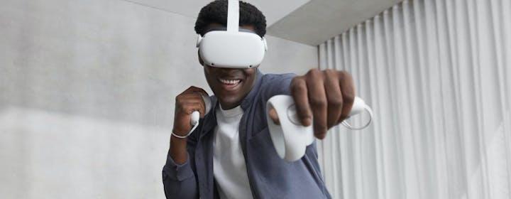 """Addio Oculus Rift: il nuovo Quest 2 è il visore """"unico"""" di Facebook"""