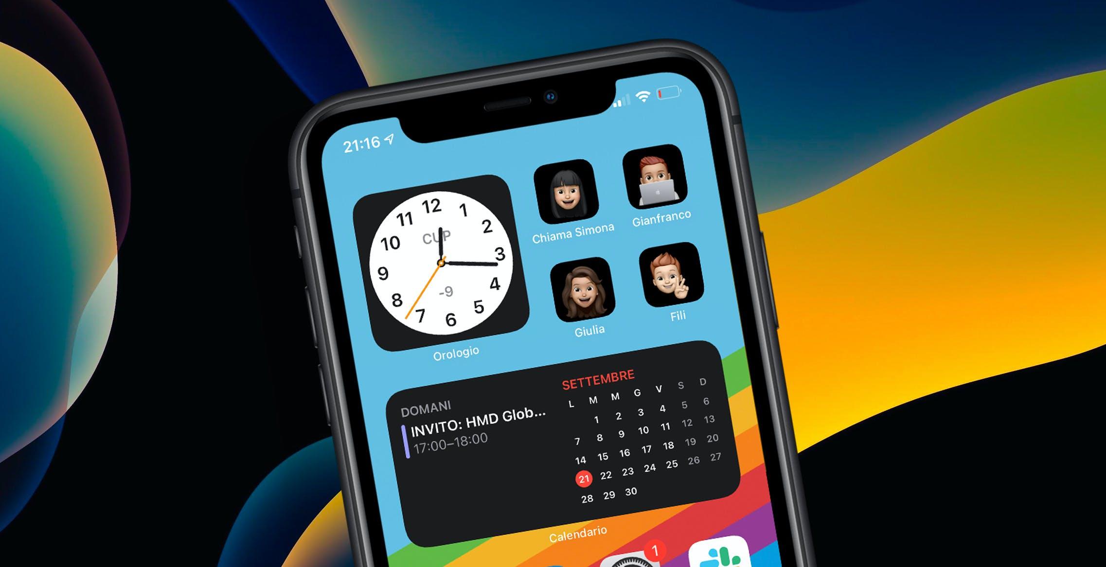 iOS 14, come rimettere i contatti preferiti sulla home con foto personalizzata. La guida