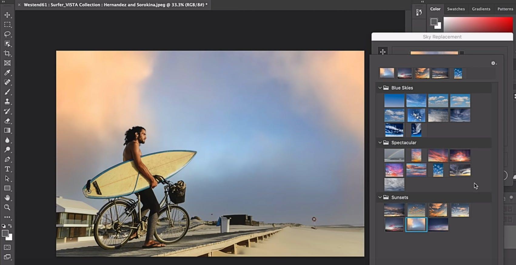 Ora Photoshop può sostituire il cielo nelle foto. In arrivo lo strumento Sky Replacement