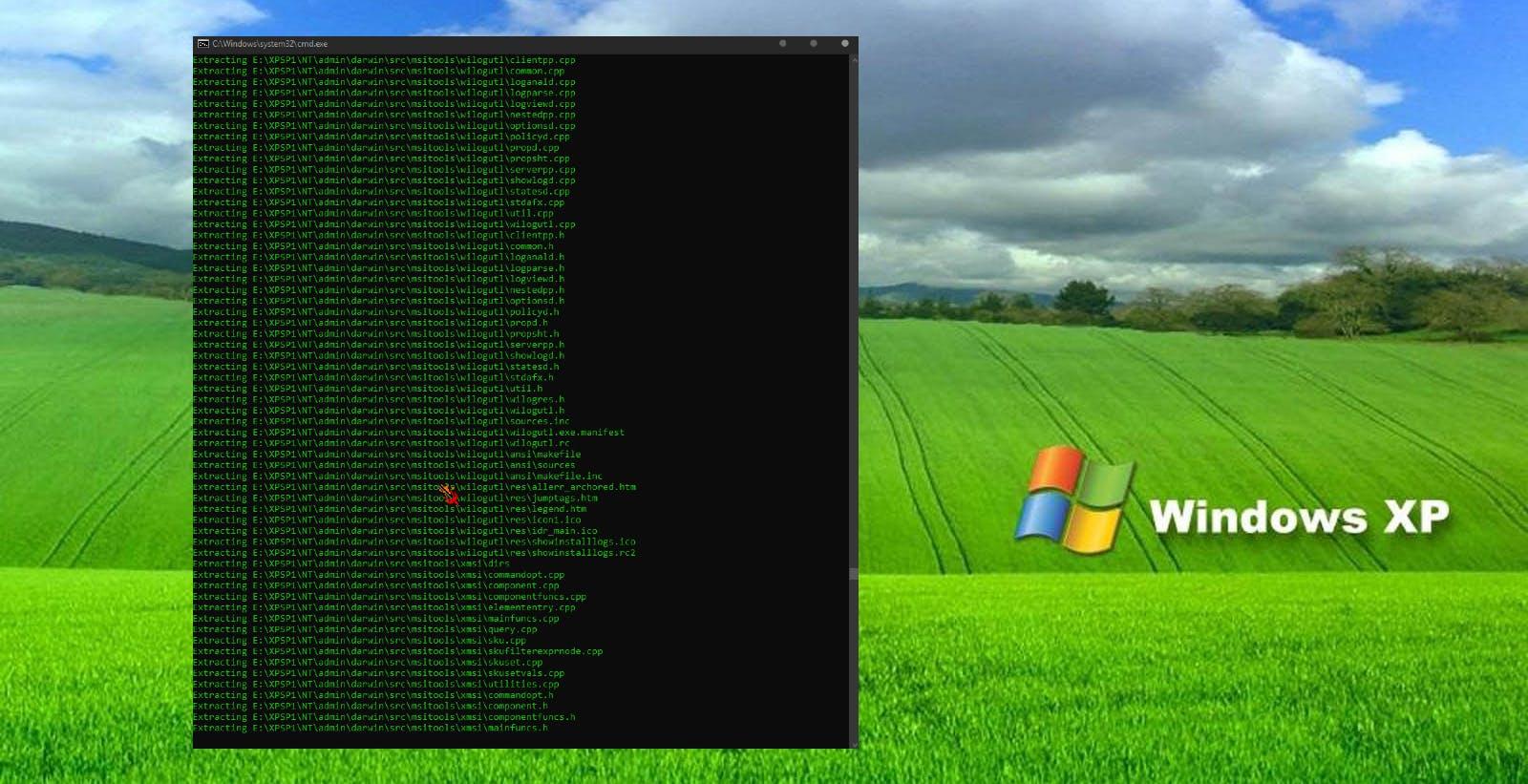 Il presunto codice sorgente di Windows XP SP1 è stato reso pubblico